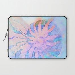 NAUTILUS CONCH SEA SHELL IMPRESSION Laptop Sleeve