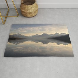 Landscape Reflections #mountain Rug