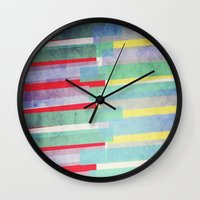 rave Wall Clocks featuring Rave by Isabelle Lafrance Photography