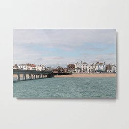 english coastline Metal Print