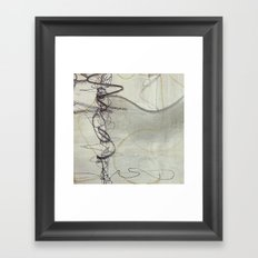 Cygnus I Framed Art Print