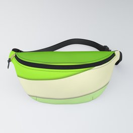 GREEN PAPER SHEETS Fanny Pack
