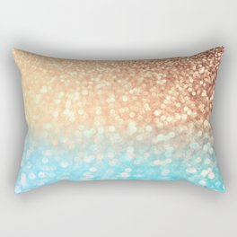 Sundown Over the Ocean Rectangular Pillow