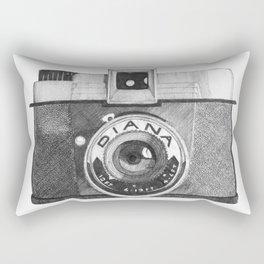 diana camera Rectangular Pillow