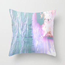 NL 6 9 Abstract Ocean Throw Pillow