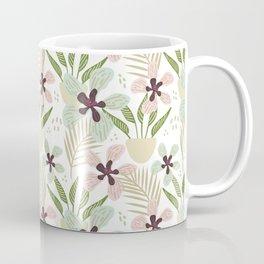 Modern Hygge Flower Meadow Pattern Coffee Mug