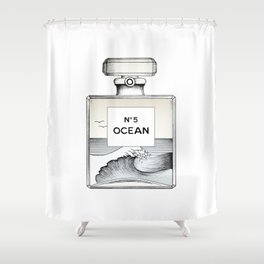 Ocean No5 Shower Curtain