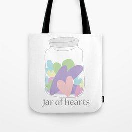 Jar of Hearts Tote Bag