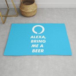 ALEXA, bring me a beer! Rug