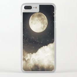 Touch of the moon I Clear iPhone Case