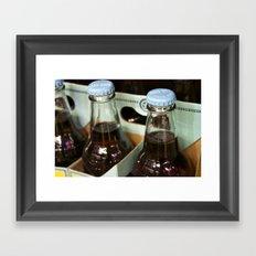 Cream Soda Framed Art Print