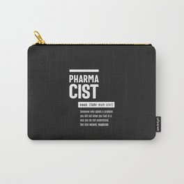 Pharmacist Definition Funny Gift Classic Carry-All Pouch