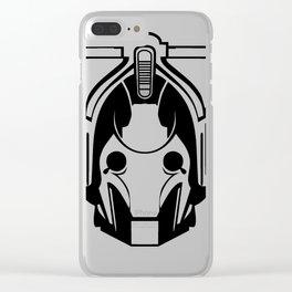 Cyberman Head Clear iPhone Case