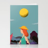 into the wild Stationery Cards featuring Wild by Riccardo Fred Cusimano