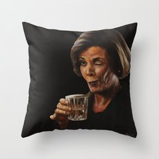 Arrested Development Lucille Bluth Throw Pillow