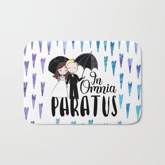 In Omnia Paratus Bath Mat