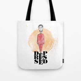 Depressed Tote Bag