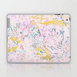 Pine Leaves - abstract pattern Laptop & iPad Skin
