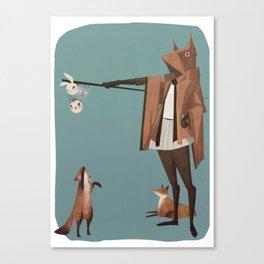 The Fox Shepherd Canvas Print