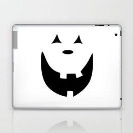 Happy Jack O'Lantern Face Laptop & iPad Skin