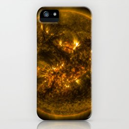 1100. NASA Releases Images of 1st Notable Solar Flare of 2015 iPhone Case