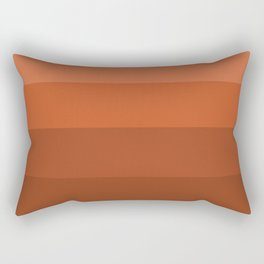 Earth Brown Shades - Color Therapy Rectangular Pillow