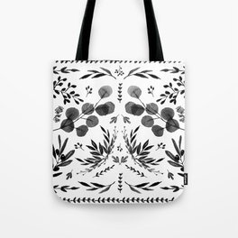 Black and white scence Tote Bag