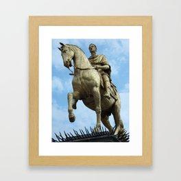 King William Statue, Hull Framed Art Print