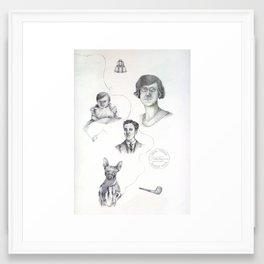 Family Ties Framed Art Print