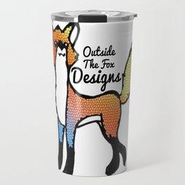 Outside the Fox designs Travel Mug