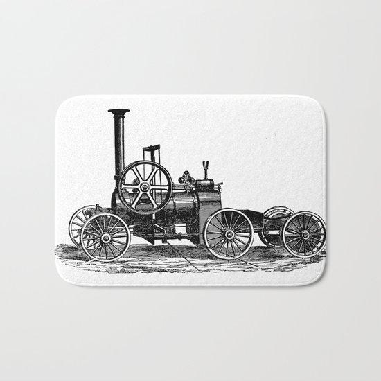 Steam car Bath Mat