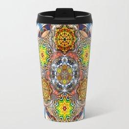 Upwards Redux - The Mandala Collection Travel Mug