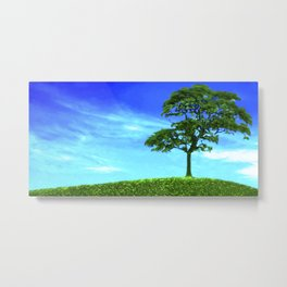 Quite High Metal Print