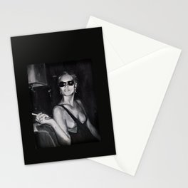 Kate Moss Painting  Stationery Cards