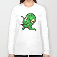 cthulhu Long Sleeve T-shirts featuring Cthulhu by Artistic Dyslexia