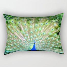 Peacock Feathers   Bird   Birds   Nadia Bonello   Canada Rectangular Pillow