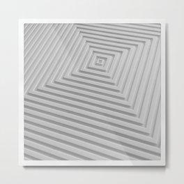 Concentric Metal Print