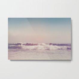 Pacific Waves III Metal Print