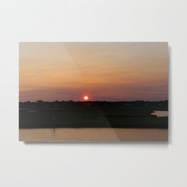 Sunset on the Cape Metal Print