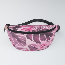 Tropical flowers 10 Fanny Pack