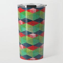 Cubism Art Travel Mug