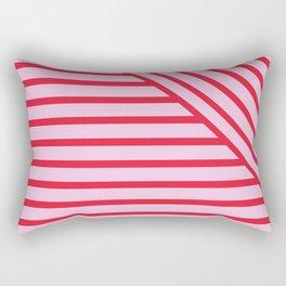 Geo stripe Rectangular Pillow