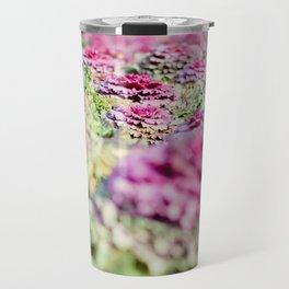 Purple Cabbage Travel Mug