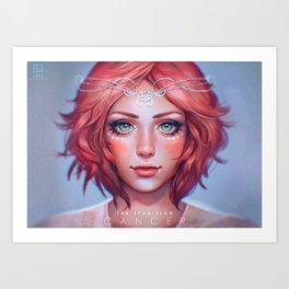 Cancer - The Star Sign Art Print