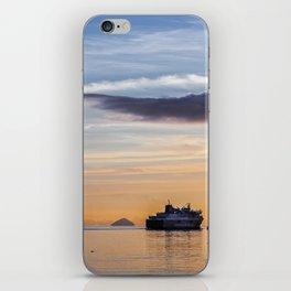 Last Ferry to Arran iPhone Skin