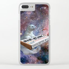 Space Ferret Clear iPhone Case
