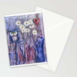 Marguerites Stationery Cards