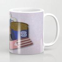 the breakfast club Mugs featuring Breakfast Club by Matt Humphrey