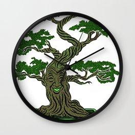 Mr. Bonsai Wall Clock