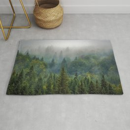 Forest and Fog 03 Rug